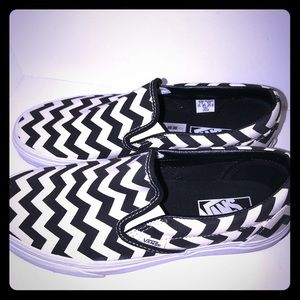 Vans slip on sneakers